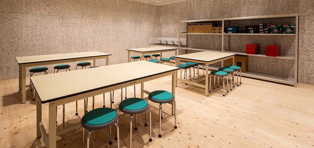 実習室(体験工房)